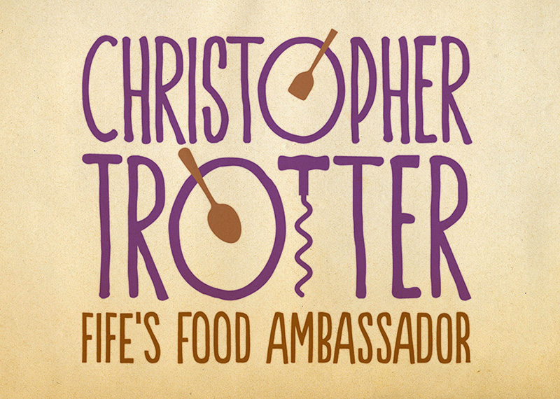Identity, website, print and email marketing for chef and author Christopher Trotter