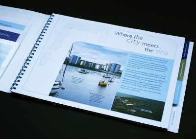 Design, artwork and photography for Corinthian Quay, Edinburgh