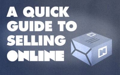 A quick guide to selling online